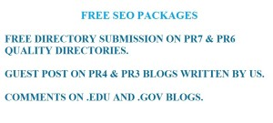 FREE SEO PACKAGES
