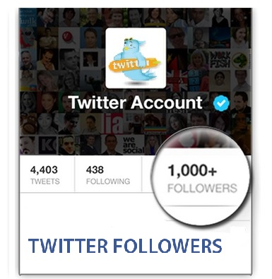 1000 TWITTER FOLLOWERS - Buy twitter followers - only real active cheap  targeted followers from US, Retweets, favorites