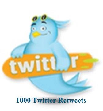 1000 RETWEETS