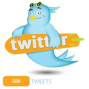 500 TWEETS