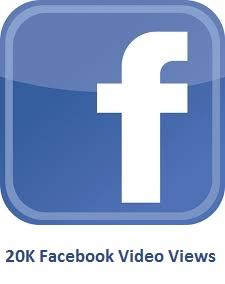 20000 Facebook Video Views