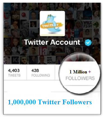 1 Million Twitter Followers
